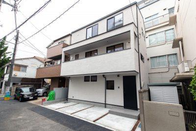 文京区水道の住宅